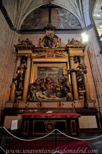 Catedral de Segovia, Retablo del Santo Entierro