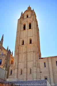 Catedral de Segovia, Fachada Oeste de la Torre-campanario