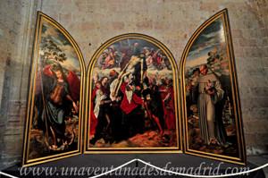 Catedral de Segovia, Tríptico del Descendimiento