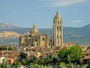 Catedral de Segovia, Vista desde Zamarramala