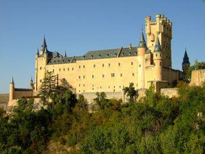 Segovia, Alcázar desde el Cementerio Judío