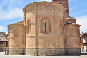 Segovia, Ábsides de la Iglesia de San Lorenzo
