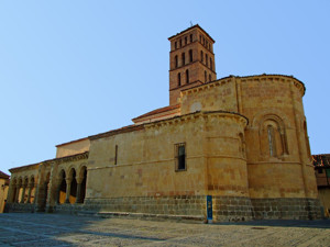 Segovia, Atrio Sur de la Iglesia de San Lorenzo