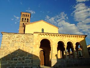 Segovia, Portada de la Iglesia de San Lorenzo