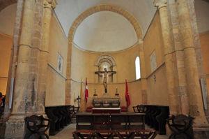 Ábside central de la Iglesia de la Vera Cruz