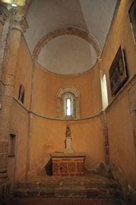 Ábside del lado de la Epístola de la Iglesia de la Vera Cruz