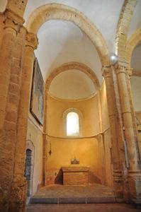 Ábside del lado del Evangelio de la Iglesia de la Vera Cruz