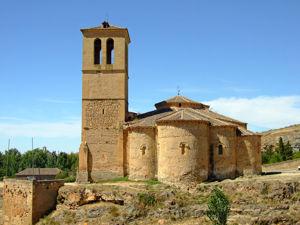 Ábsides de la Iglesia de la Vera Cruz