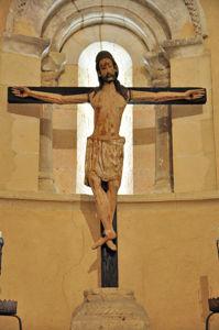 Cristo crucificado de la Iglesia de la Vera Cruz