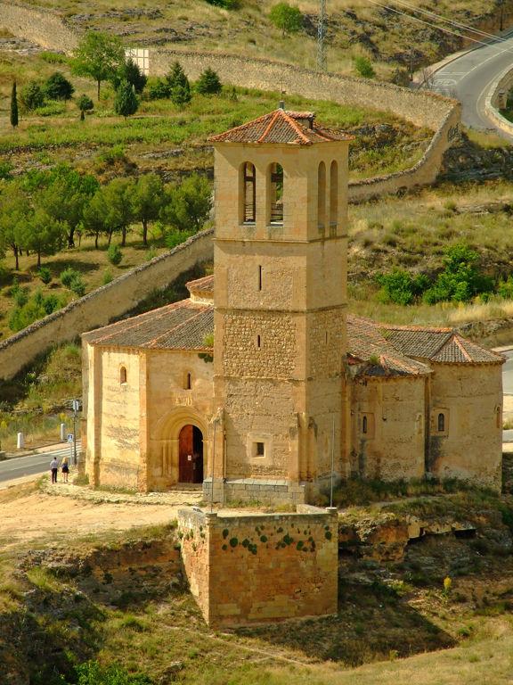 Segovia: Iglesia de la Vera Cruz
