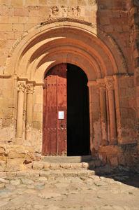 Puerta de acceso a la Iglesia de la Vera Cruz