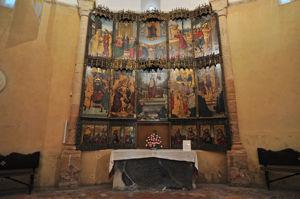 Retablo de la Resurrección de la Iglesia de la Vera Cruz