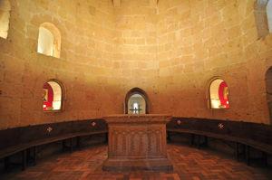 Segunda planta del Edículo de la Iglesia de la Vera Cruz
