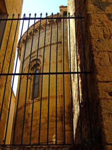 Segovia, Ábside de la Iglesia de la Santísima Trinidad