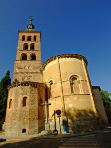 Segovia, Ábside de la Iglesia de San Andrés