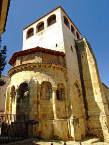 Segovia, Ábside de la Iglesia de San Clemente