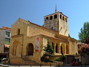Segovia, Iglesia de San Clemente