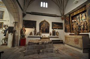Segovia, Capilla de los Herrera en la Iglesia de San Martín