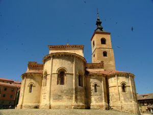 Segovia, Ábsides de la Iglesia de San Millán
