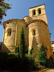 Segovia, Ábside de la Iglesia de San Nicolás