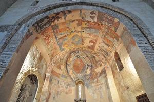 Segovia, Frescos románicos de la Iglesia de los Santos Justo y Pastor