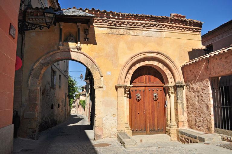 Segovia ii siglo xii poca de esplendor rom nico - Puerta de segovia ...