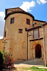 Segovia, Ábside tardorrománico del Monasterio de San Vicente el Real