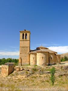 Segovia, Lateral Este de la Iglesia de la Vera Cruz
