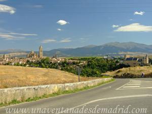 Entrada a Segovia por la Carretera de Zamarramala
