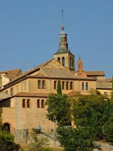Segovia, Antigua Sinagoga Mayor vista desde El Pinarillo