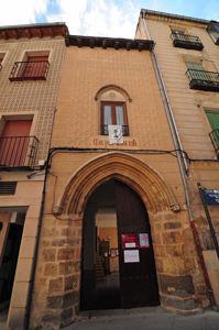 Segovia, Entrada por la Calle Juan Bravo a la Antigua Sinagoga Mayor