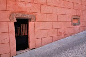 Segovia, Edificio del Siglo XIV en el número 3 de la Calle Descalzas