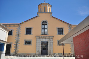 Segovia, Entrada principal de la antigua cárcel de Partido de Segovia