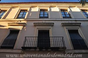 Segovia, Detalle de la fachada de la Casa de Ezequiel González