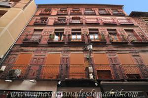 Segovia, Edificio de viviendas neomudéjar en la Calle Cervantes, 13