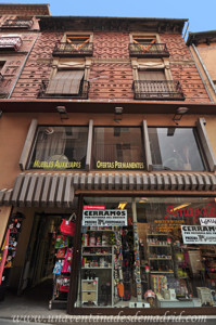 Segovia, Edificio de viviendas neomudéjar en la Calle Cervantes, 15