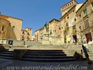 Segovia, Plaza de San Martín y Plaza de Medina del Campo