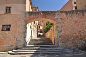 Murallas de Segovia, Postigo de la Luna