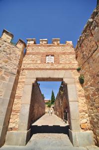 Murallas de Segovia, Postigo del Consuelo o de Santa Columba