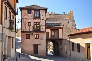 Murallas de Segovia, Puerta de San Andrés desde el interior del recinto amurallado