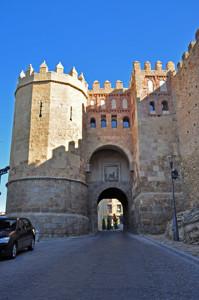 Murallas de Segovia, Puerta de San Andrés