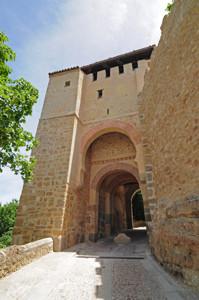 Murallas de Segovia, Puerta de Santiago