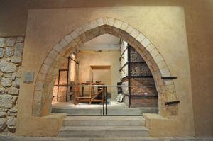 Capilla donde Daniel Zuloaga colocó sus hornos de cerámica