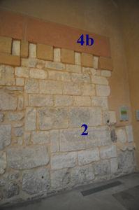 Muro Sur, derecha