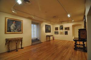 Tercera sala, retratos de Daniel e Ignacio