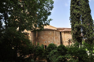 Iglesia de San Juan de los Caballeros - Museo Zuloaga, lado Este