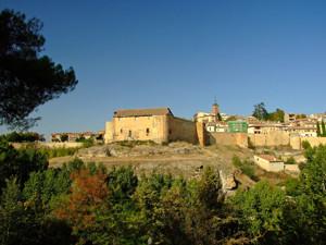Segovia, Casa del Sol desde el Cementerio Judío
