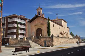 Segovia, lateral Oeste de la Ermita del Santo Cristo de la Cruz