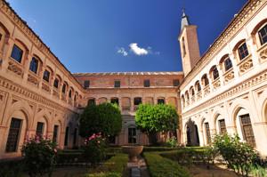 Segovia, Claustro Principal del Monasterio de San Antonio el Real
