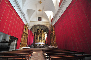 Segovia, Iglesia del Monasterio de San Antonio el Real